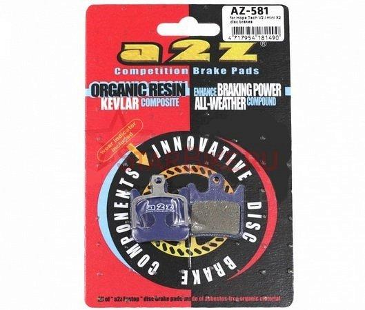 Тормозные колодки A2Z  Hope Tech V2/mini X2 blue