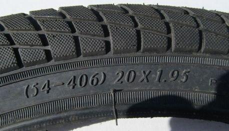Покрышка NILON 20*1,95 (54-406) LH-101-001