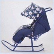 Санки-коляска складные Имго-4 плюс
