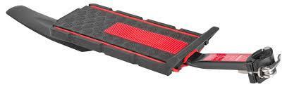 """Багажник 20""""-28"""" BLF-H22 консольный быстросъёмный, с щитком, Alu/Plastic, Black/Red"""