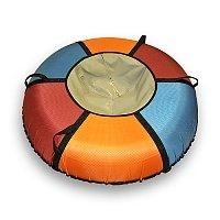 Санки-ватрушка Разноцвет M (75 см)