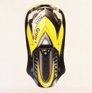 Санки-ледянки Polar-Racer 5 mm Snowmobile 105 см 42