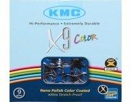 Цепь KMC X9 VIVID