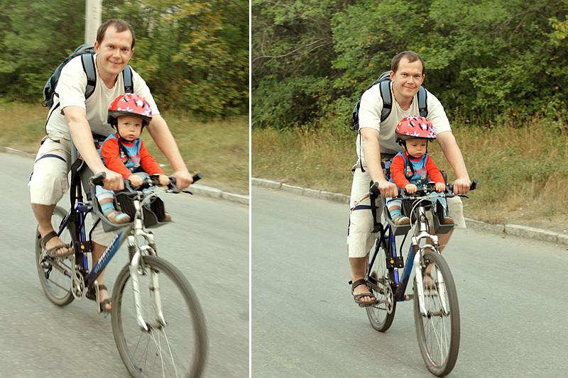 Кресло для велосипеда детское