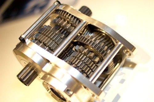 Внутреннее устройство коробки передач Pinion