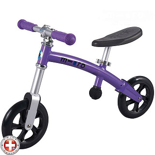 Беговел Micro G-bike+Light Purpul