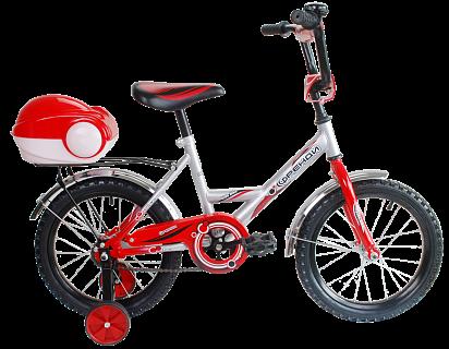 Велосипед BLACK AQUA Мультяшка Френди 18'' 2016