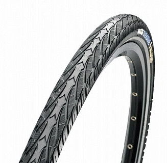 Покрышка Maxxis 700x38C Overdrive TPI 60 сталь 70a MaxxProtect Single TB95688400
