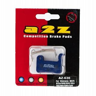 Тормозные колодки A2Z Shimano XTR/XT/SAINT/M965/M975/M966/M800/ M765/M755/M601/M585/545/535
