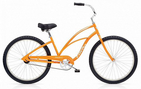 Велосипед Electra Cruiser 1 3i Ladies' 26'' 2016 (тюнинг)
