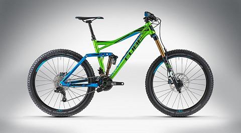 Велосипед Cube FRITZZ 180 HPA 26 SL 2014