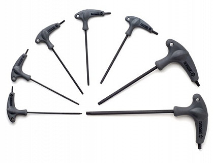 Набор Г-образных ключей с ручкой Pedros Torx 6451660