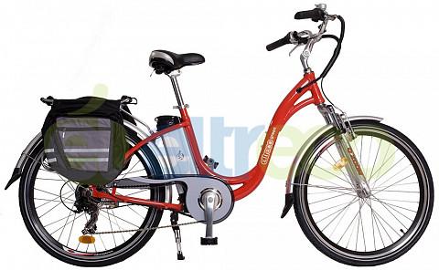 Электровелосипед ELTRECO Green Lux Grey