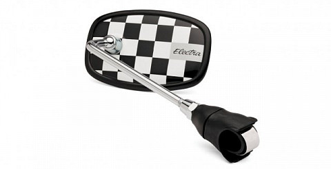 Зеркало Electra Cruiser Handlebar Mirror black/white 328644