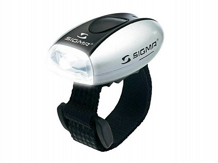 Фонарь SIGMA Micro Silver/Led-White 17240