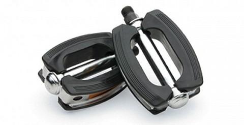Педали Electra Retro Pedals chrome/black  438323