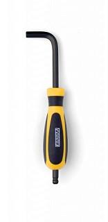 Ключ педальный шестигранный с ручкой Pedros 6463028