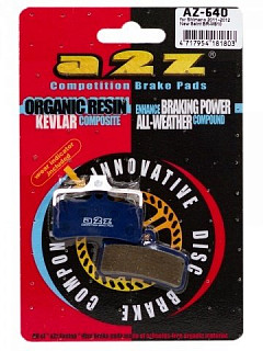 Тормозные колодки A2Z  Shimano Saint BR-M810 blue