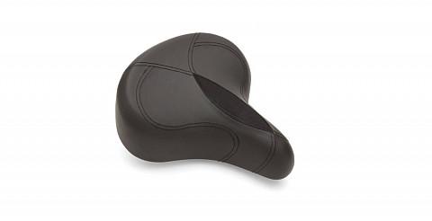 Седло Electra Ergo Saddle w Elastomers black 598494