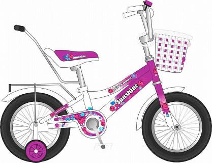 "Велосипед BLACK AQUA Sunshine 12"" 2016"