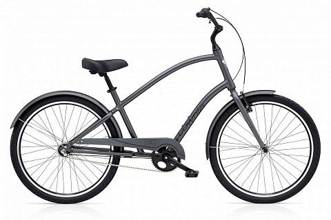 Велосипед Electra Townie Original 3i Men's Satin Graphite 2015