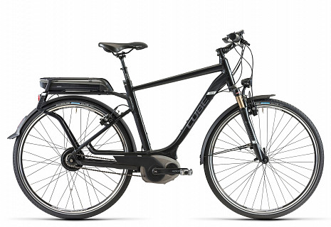 Электровелосипед Cube DELHI ULS PRO HYBRID 2014