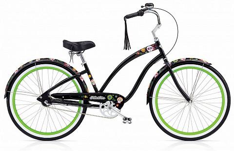 Велосипед Electra Cruiser Sugar Skulls 7i Ladies' 2015