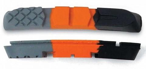 Тормозные резинки сменные цветные AUTHOR