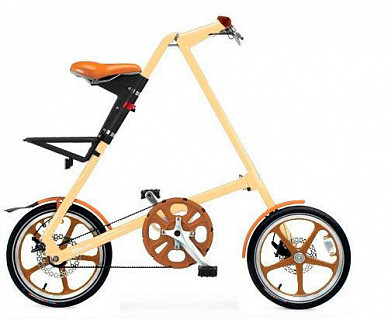 Велосипед Strida LT (2012) кремовая