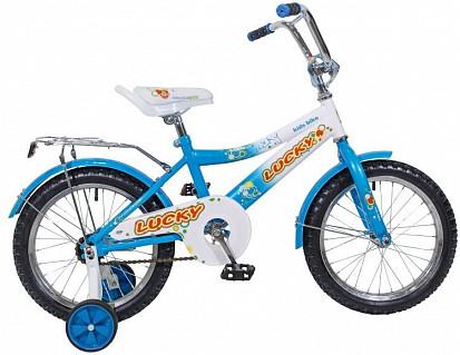 Велосипед BLACK AQUA Lucky 18 2015