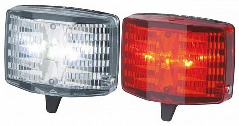 Комплект фар TOPEAK HighLite Combo Aura  (WhiteLite Aura и RedLite Aura Combo) TMS064