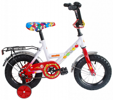 Велосипед BLACK AQUA Мультяшка Multi 12'' 2015