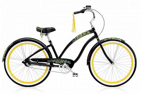 Велосипед Electra Cruiser Flora and Fauna 3i Ladies' 2016