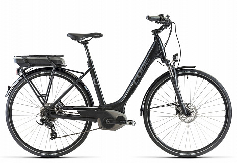 Электровелосипед Cube TOWN GTC HYBRID ST 2014