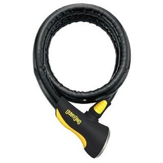 Велозамок OnGuard Rottweiler 4 ключа+1 с подсветкой, трос 120см х 25мм LCK-36-02 8024