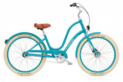 Велосипед Electra Townie Balloon 3i EQ Ladies' Azure 2016