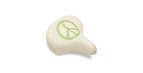 Седло Electra  Peace Saddle w Springs  cream 598589